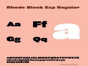 Rhode Black Exp