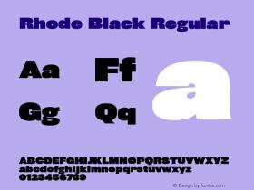 Rhode Black