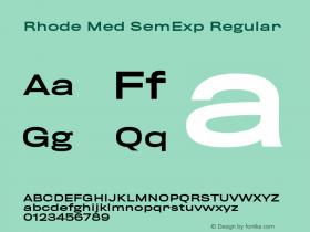 Rhode Med SemExp