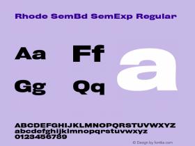 Rhode SemBd SemExp
