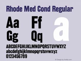Rhode Med Cond