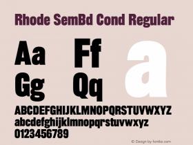 Rhode SemBd Cond