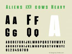 Aliens & cows
