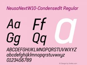 NeusaNext-CondensedIt