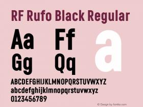 RF Rufo Black