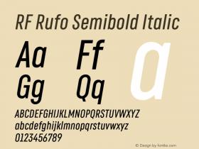 RF Rufo Semibold