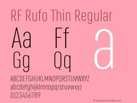 RF Rufo Thin