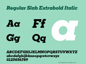 Regular Slab Extrabold