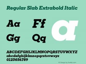 Regular Slab Extrabold
