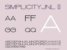 SimplicityJNL