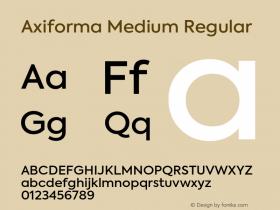 Axiforma Medium