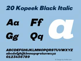 20 Kopeek Black