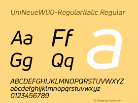 UniNeue-RegularItalic