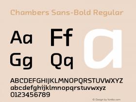 Chambers Sans-Bold