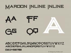 Maroon Inline