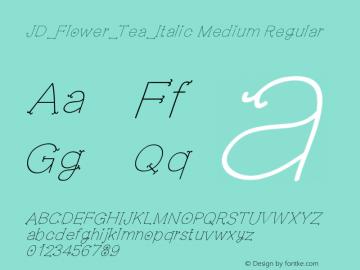 JD_Flower_Tea_Italic Medium