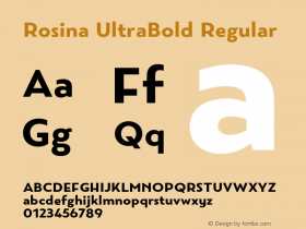 Rosina UltraBold