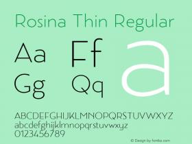 Rosina Thin