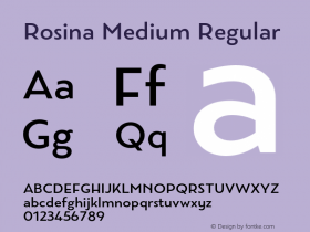 Rosina Medium