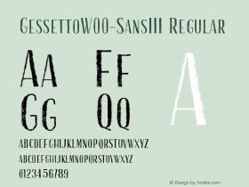 Gessetto-SansIII
