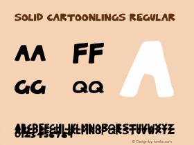 Solid Cartoonlings