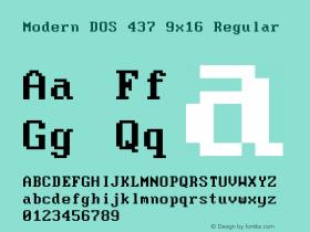 Modern DOS 437 9x16