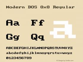 Modern DOS 8x8
