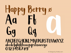 Happy Berry