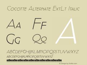 Cocotte Alternate ExtLt