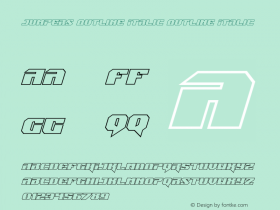 Jumpers Outline Italic