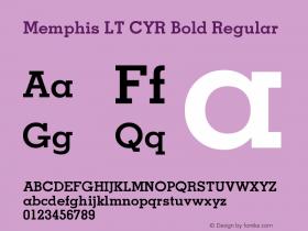 Memphis LT CYR Bold