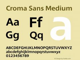 Croma Sans