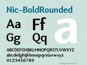 Nic-BoldRounded