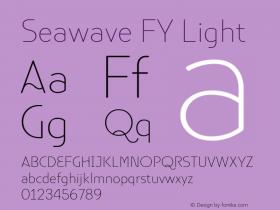 Seawave FY