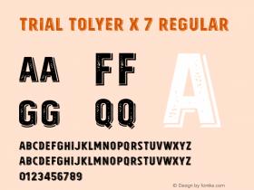 Tolyer X 7