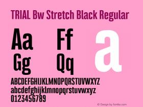 Bw Stretch Black