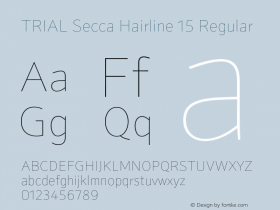 Secca Hairline 15