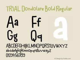 Dondolare Bold