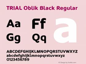 Oblik Black