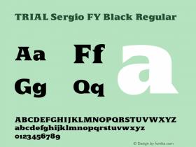 Sergio FY Black