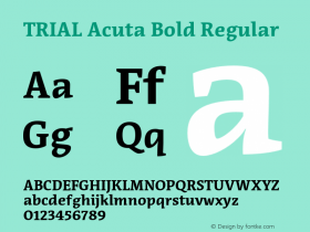 Acuta Bold