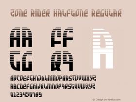Zone Rider Halftone