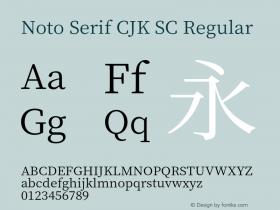 Noto Serif CJK SC