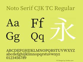 Noto Serif CJK TC