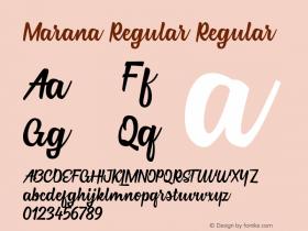 Marana Regular