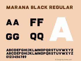 Marana Black