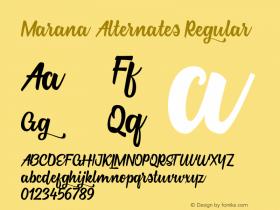 Marana Alternates