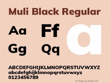 Muli Black
