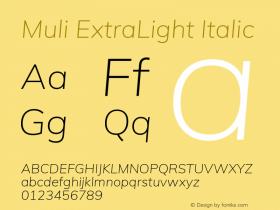 Muli ExtraLight