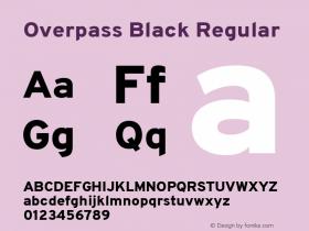 Overpass Black